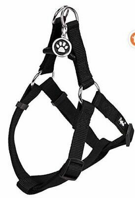 Pupteck No Pull Dog Harness Adjustable Nylon Step In Puppy SMALL NEW Black