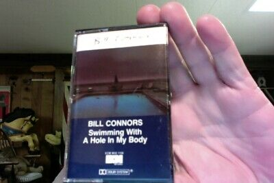 Bill Connors- Swimming With A Hole In My Body- ECM- used cassette- nice shape