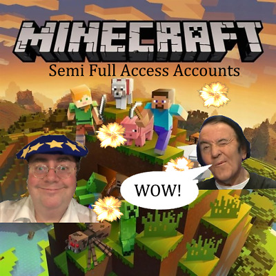 2 Minecraft Premium Account: Java Edition (Windows, Mac OS, Linux) | SEMI ACCESS