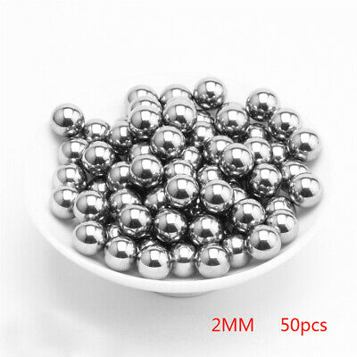 "0.125 in // 3.1750 mm 100 Premium 1//8/"" Solid Steel Ball Bearing Loose G25"
