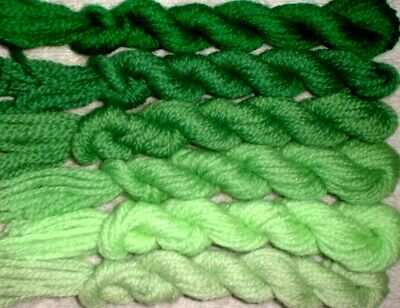 New Paternayan Wool 3ply Persian Yarn Needlepoint Crewel 860 Copper Family