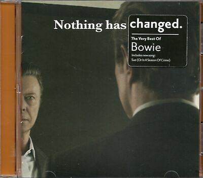 David Bowie - Nothing Has Changed (The Very Best of Bowie) Remastered 2014 CD