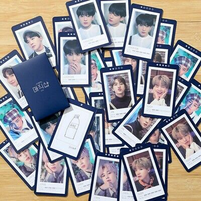 5Pcs/set BTS 5TH MUSTER MAGIC SHOP Photocard Fan Made Lomo Card JK Jimin V JH RM