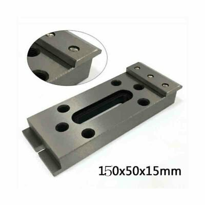 Wire EDM Fixture Board Stainless Jig Tool For Clamping and Leveling 150x50x15mm