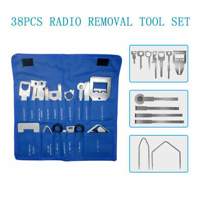 38x Car Radio Stereo Release Removal Install Tool Key Set Fit VW/Audi/Ford/Benz