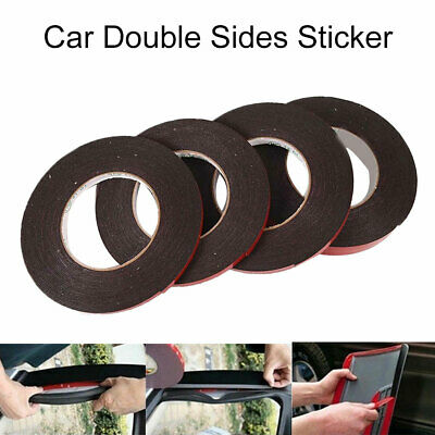 25m 6mm/8mm/10mm/20mm Car Sticker AutoAdhesive Tape Vehicle Double-Sided Sticker