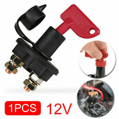 12V Battery Isolator Disconnect Cut Off Power Kill Switch for Car Truck ATV Boat
