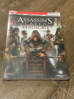 Assassin's Creed Syndicate Official Strategy Guide Prima - Poster Included