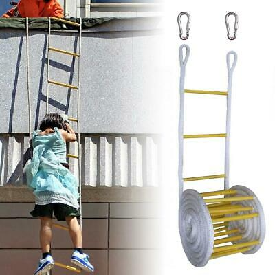 Emergency Fire Escape ladder 15M for KidS and Adults Escape from Window Balcony