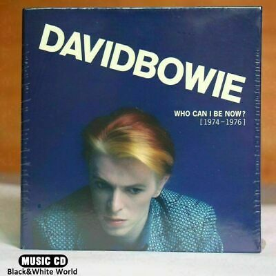 "David Bowie ""Who Can I Be Now? (1974-1976)"" 12 CD Box Set Collection NEW/SEALED"