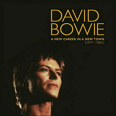 "David Bowie ""A New Career In A New Town (1977-1982)"" 11 CD Box Set Collection"