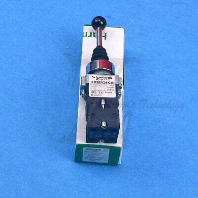 4NO 4Positions Momentary Spring Return Wobble Stick Joystick XD2PA24CR NEW