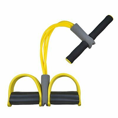 Foot Elastic Leg Pedal Exercise Resistance Band Pull Up Pilates Yoga Physio Rope