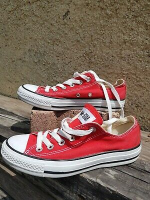 converse rouge taille 25