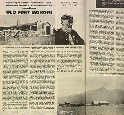 Fort Moroni, Arizona Territory - Apache Attack+ Bullwinkle,Colonel Carr,Young