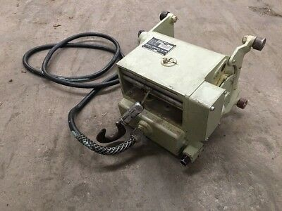 Aircraft Mounted Winch Hoist WE-2651-3 Wadell 500 Pounds 25 FPM