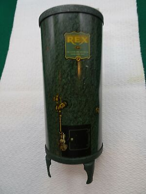 Vintage Tin Advertising Bank Rex Water Heater, Cleveland, Ohio