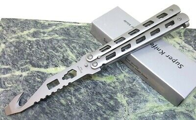 BUTTERFLY BALISONG TRAINER Knife Training Dull Tool Metal