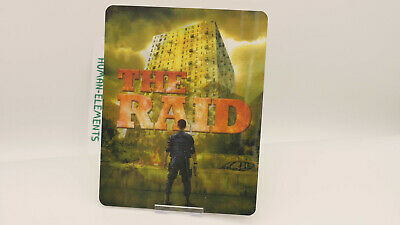 THE RAID - Lenticular 3D Flip Magnet Cover FOR bluray steelbook
