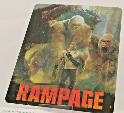 RAMPAGE - Lenticular 3D Flip Magnet Cover FOR bluray steelbook