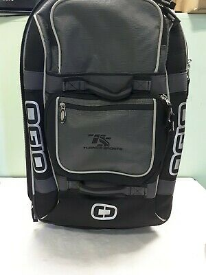 Ogio Terminal Stealth Wheeled Rolling Suitcase/Luggage - Turner Sports