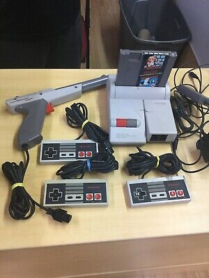 Nintendo Entertainment System NES - 101 Top Loader console See Des
