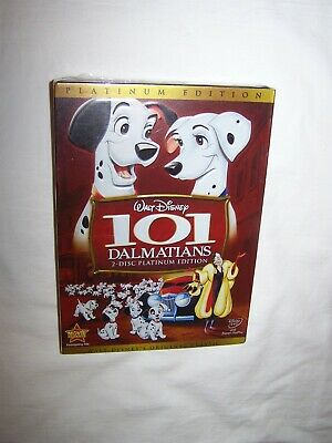 101 Dalmatians (DVD 2008, 2-Disc Set, Platinum Edition) Animation; New/Sealed