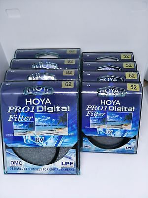 HOYA  49mm_82 mm Pro1 UV DMC LP Digital Filter Multicoated Pro 1D NEW Genuine