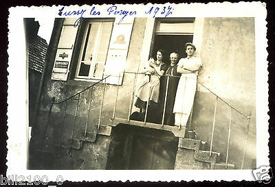 Yonne . Cussy les Forges . photo ancienne . 1937