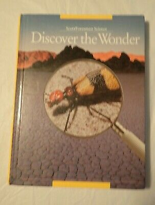 SCOTT FORESMAN SCIENCE Discover The Wonder Grade 3 Textbook
