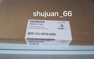 Siemens 6Es7412-1Xf04-0Ab0 /  6Es7 412-1Xf04-0Ab0 New In Box