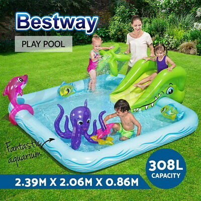 BESTWAY MY FIRST Fast Set Pool Inflatable Swimming Paddling