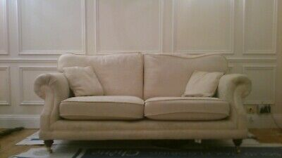 Genuine Antique Gothic Victorian Regency Style Three Seater