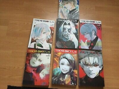 TOKYO GHOUL RE Manga Series Collection Set of Book Volumes 1-7 by Sui Ishida