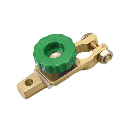 Car Battery Master Disconnect Switch Top Post Terminal Clamps Zinc Alloy