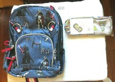PENCIL CASE ICE PACK NEW Pottery Barn STAR WARS DARTH VADER LUNCH BOX
