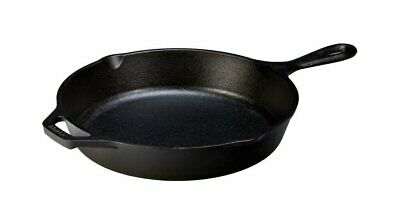 Lodge Cast Iron Skillet, Pre-Seasoned & Ready for Stove Top or Oven Use, 10.25''