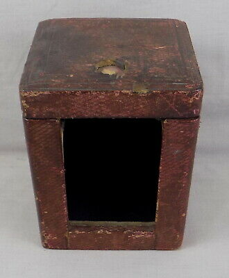 Antique Repeater Carriage Clock Travelling Or Travel Case