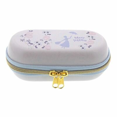 Disney Mary Poppins Glasses Case Cover - Zip Around Vintage Style Enesco
