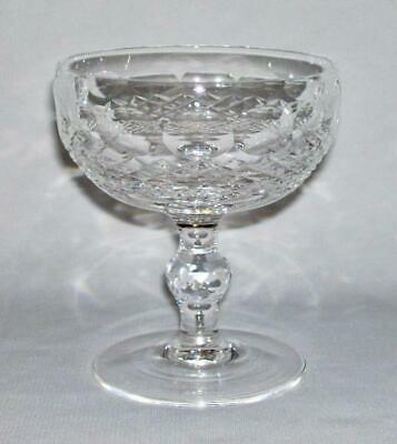 WATERFORD~Elegant Quality Crystal 6 Oz. CHAMPAGNE/TALL SHERBET (Colleen)~Ireland