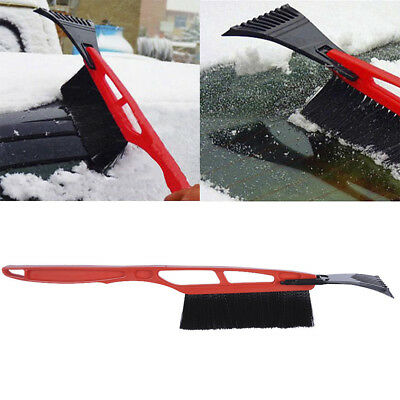 2in1 Car Removal Snow Shovel Detachable Ice Frost Scraper with Brush Clean Tool