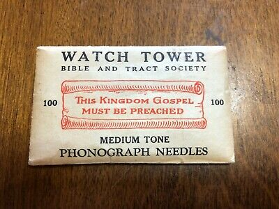 Watchtower Jehovah Witness Needle