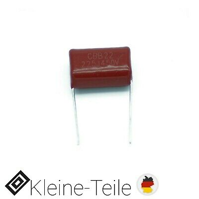 Folienkondensator 2,2µF 400V CBB22 2,2uF Film Kondensator 225J PITCH 20 mm