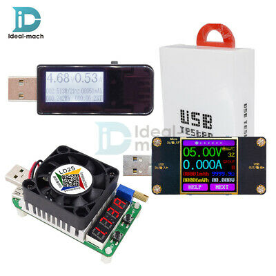 UT21 UT21B Color LCD USB Tester Bluetooth Voltmeter Current Voltage Power Meter