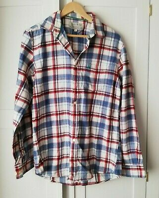 JACK WILLS Man's Checked Flannel Shirt size M