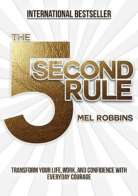 The 5 Second Rule Transform your Life, Work by Mel RobbinsHardcover Unabridged