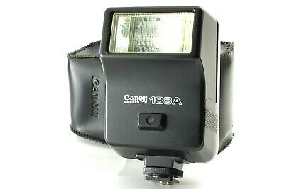 Excellent+++++ Canon Speedlite 188A Shoe Mount Flash for CANON A-1 AE-1 F-1 53