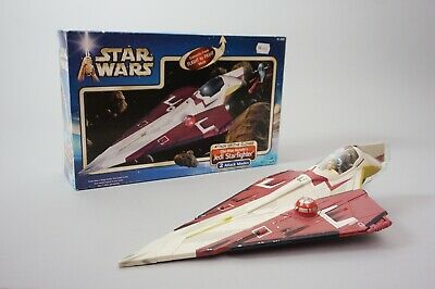 Star Wars Obi Wan Kenobi Jedi Star Fighter Attack of the Clones 1.93Z