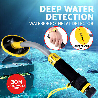 Waterproof Metal Detector 30M Underwater Pinpointer Gold Hunter PI-iking-750