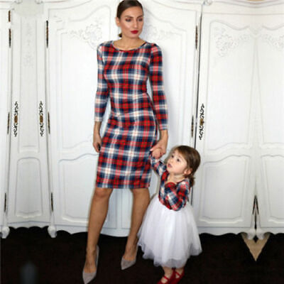 Mother and Daughter Clothes Parent-child dress Family Matching Outfits Dress